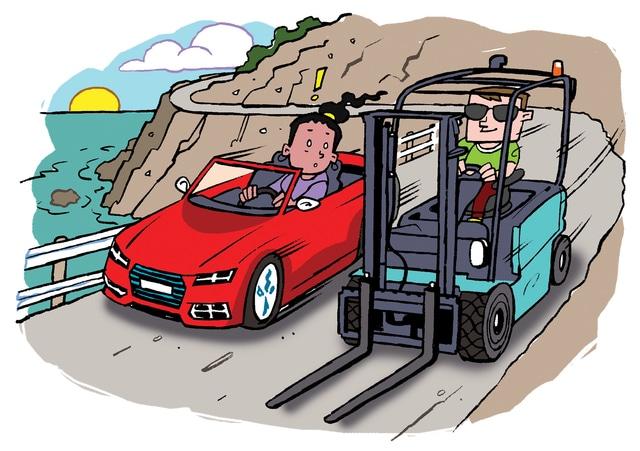 cellulare e carrelli elevatori